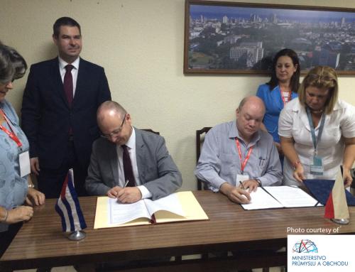 Tisková zprává pro MPO – Kubánská vládni mise 2017